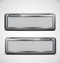 Metal banner black grille eps 10 vector