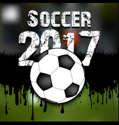 Abstract background soccer 2017 vector