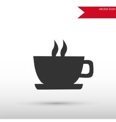 Coffee icon isolated vector image vector image