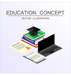 Concept education 23 vector