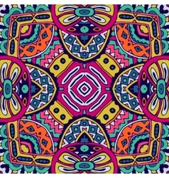 ethnic seamless pattern ornamental vector image vector image