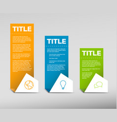 Paper progress background product choice or vector