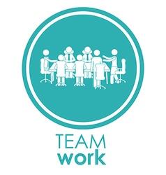 Team work different design vector