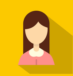 Mom icon flat style vector
