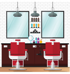 barber shop vintage vector image