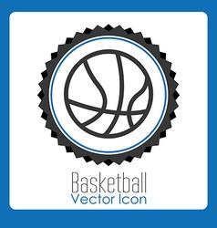 Basketball league design vector