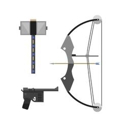 Crossbow arbalest vector
