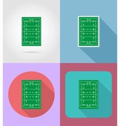 Sport flat icons 46 vector