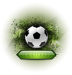 Soccer abstract vector