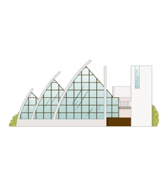 Architecture Building Project Amphitheater vector image