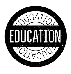 Education rubber stamp grunge vector