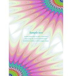 Color star brochure page template design vector