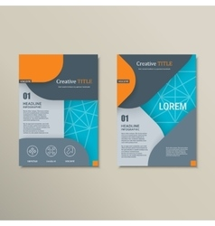 Background of modern material design vector