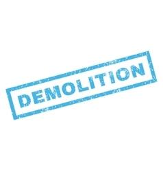 Demolition rubber stamp vector