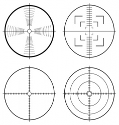 Hunting sight target vector