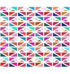 Seamless colorful geometric blocks vector