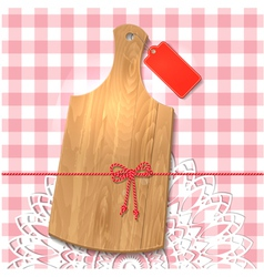 wooden utensil14 vector image
