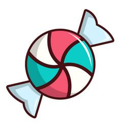 Candy icon cartoon style vector