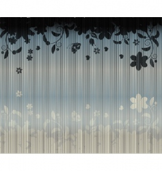 curtains background vector image