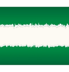 Background of green seamless torn paper vector