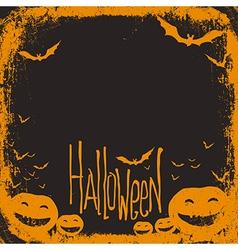 Halloween simple background vector