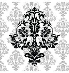Vintage Damask Elegant Classic ornament pattern vector image