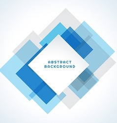 Blue abstract template vector