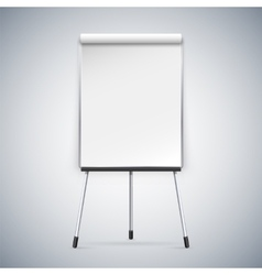 Office flipchart vector