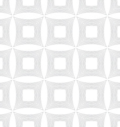 Repeating ornament many lines forming squares vector