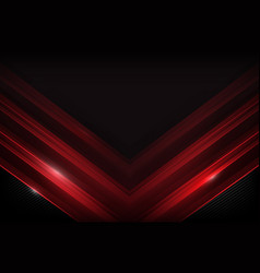 Dark carbon fiber and red overlap element vector