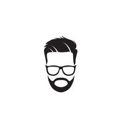 Geek logo template vector