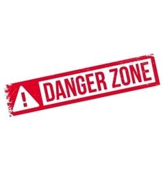 Danger Zone rubber stamp vector image