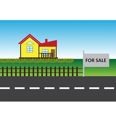 House for sell vector