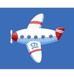 Airplane dodo collection vector