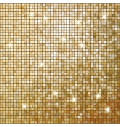 Amazing template on gold glittering eps 10 vector
