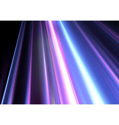 Colored light beams vector