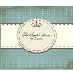 Grunge card vector image vector image