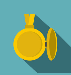 Medallion with blank space for photo icon vector