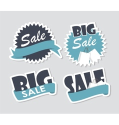 Sale Labels Set vector image vector image
