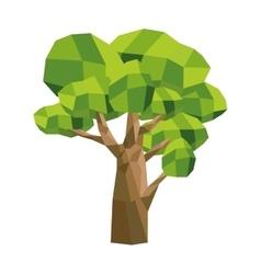 single tree icon vector image vector image