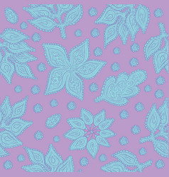 Vegetable seamless pattern decorative vector