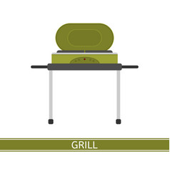 barbeque grill icon vector image