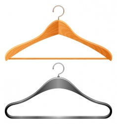 Hangers vector