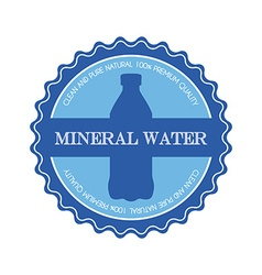 Mineral water vector
