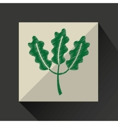 Nature leaf green ecology botany vector