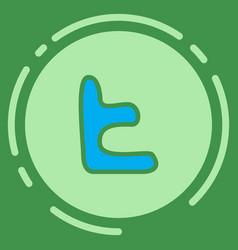 Tumblr social media icons vector