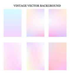 Abstract colorful vintage template vector