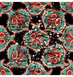 decorative seamless pattern background Elegant vector image