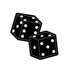 dice vector image vector image