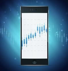 Exchange on phone concept vector